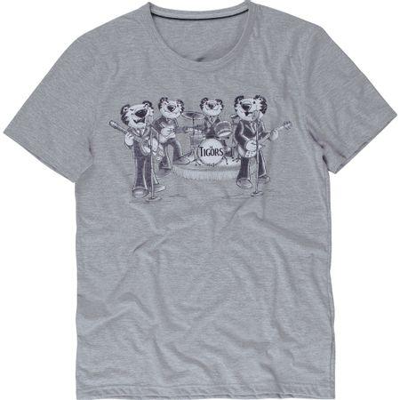 Camiseta Tigor T. Tigre Pai Adulto Cinza