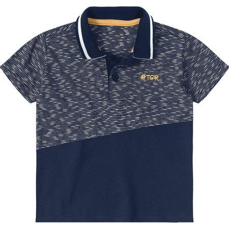 Camisa Pólo Tigor T. Tigre Baby Azul