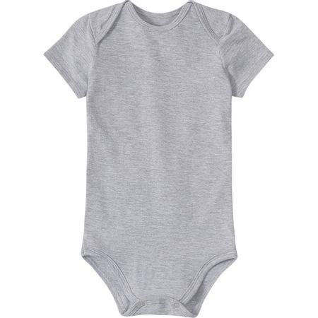 Body Lilica Ripilica Cinza Bebê