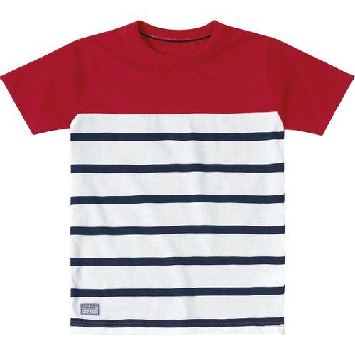 Camiseta Marisol Listras Menino 142b8ad9de2