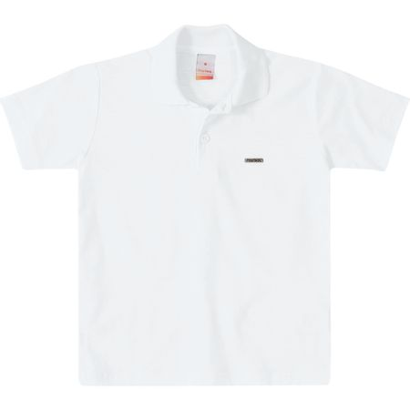 Camisa Polo Marisol Branco Menino