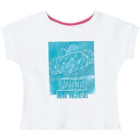 Blusa Lilica Ripilica Branca Bebê Menina