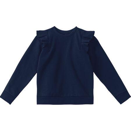 Blusão Lilica Ripilica Azul Menina