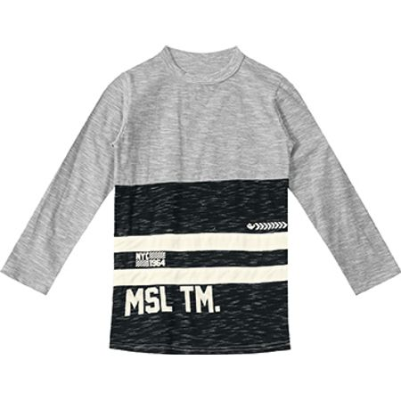 Camiseta Marisol Cinza Menino