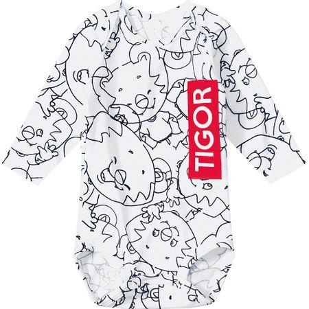 Body Tigor T. Tigre Branco Rn Menino