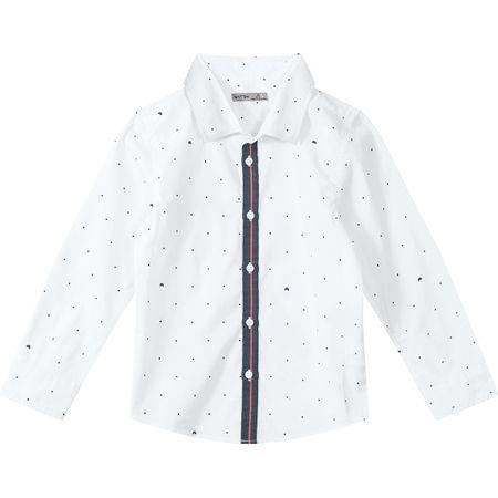 Camisa Tigor T. Tigre Branca Menino