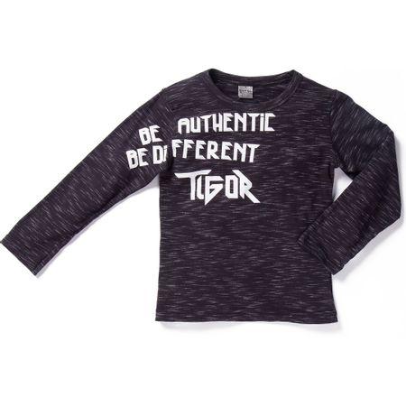 Camiseta Tigor T. Tigre Preta Menino