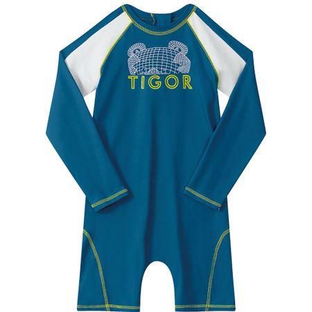 Macacão Tigor T. Tigre Azul Menino