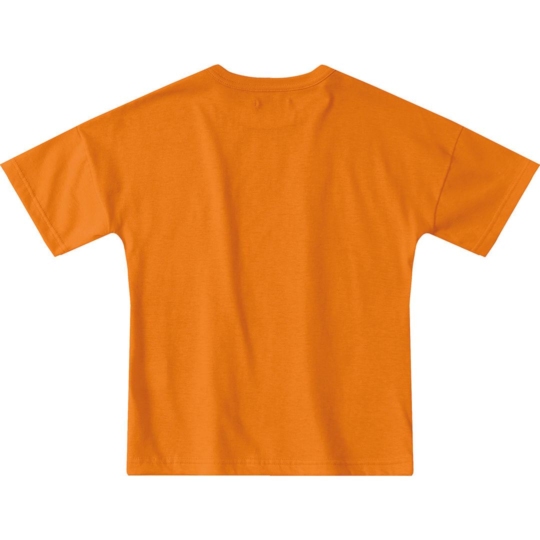 Foto 3 - Camiseta Tigor T. Tigre Laranja Menino