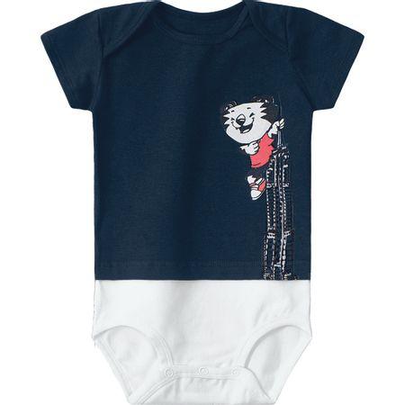 Body Tigor T. Tigre Azul Bebê Menino