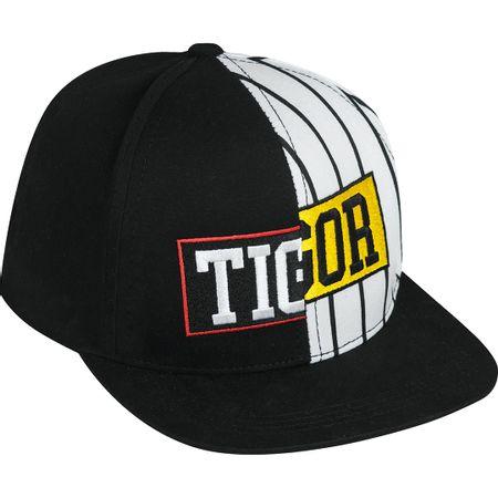 Boné Tigor T. Tigre Preto Menino