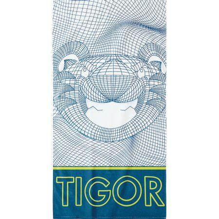 Toalha De Praia Tigor T. Tigre Azul Menino