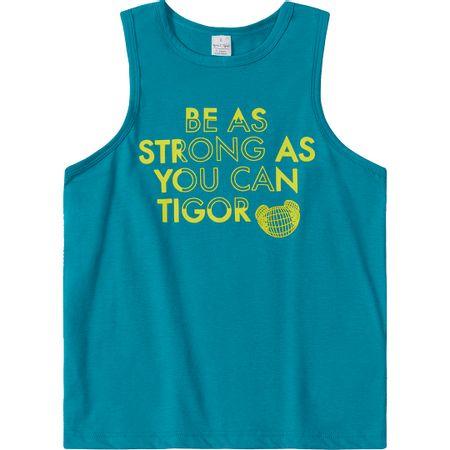 Camiseta Regata Tigor T. Tigre Verde Menino