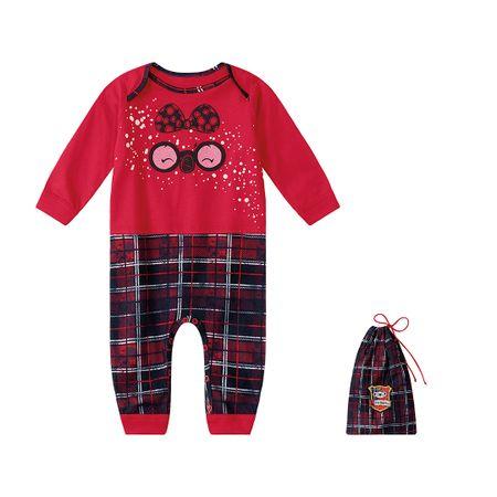 Pijama Lilica Ripilica Vermelho Bebê Menina