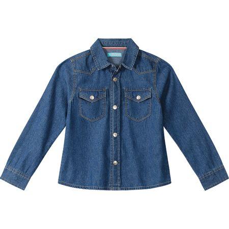 Camisa Lilica Ripilica Azul Menina