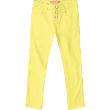 Calça Lilica Ripilica Amarela Bebê Menina