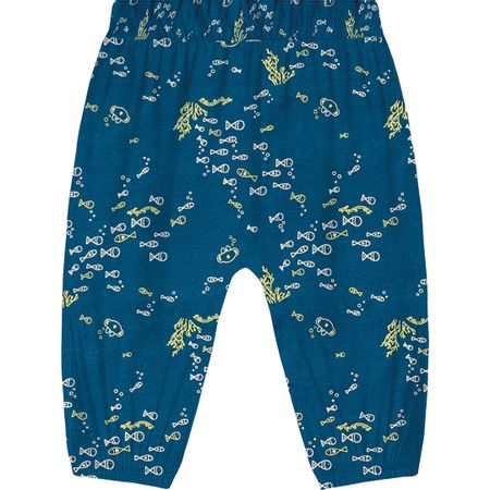 Calça Lilica Ripilica Azul Bebê Menina
