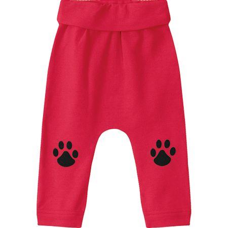 Calça Tigor T. Tigre Vermelha Bebê Menino