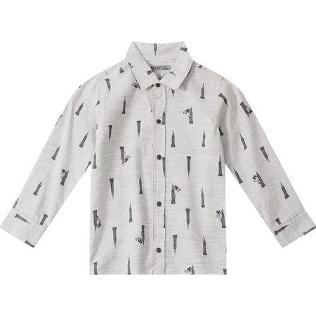 Camisa Tigor T. Tigre Bege Menino