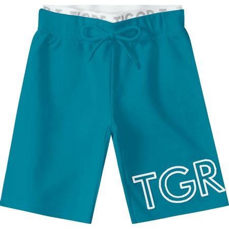 Bermuda Tigor T. Tigre Verde Menino