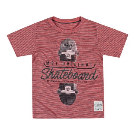 Camiseta Marisol Rosa Menino