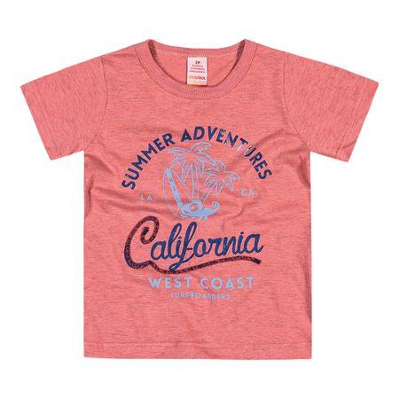 Camiseta Marisol Rosa Bebê Menino