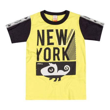 Camiseta Marisol Amarela Menino