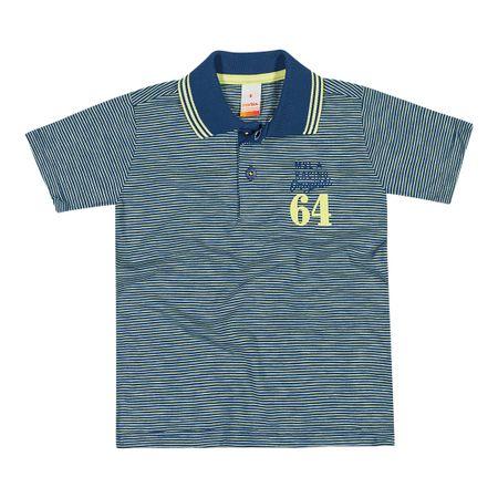 Camisa Polo Marisol Azul Menino