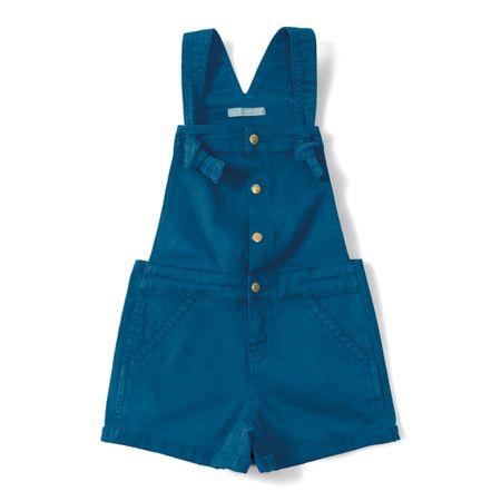 Jardineira Lilica Ripilica Azul Menina