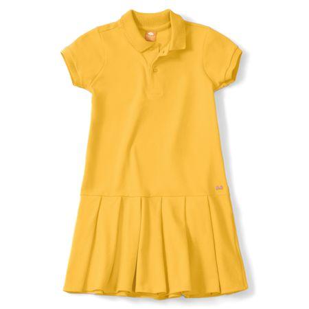 Vestido Lilica Ripilica Amarelo Menina