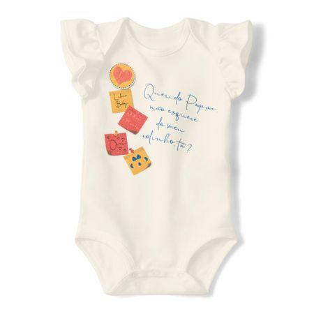 Body Lilica Ripilica Bege Bebê Menina