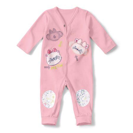 Macacão Lilica Ripilica Rosa Bebê Menina