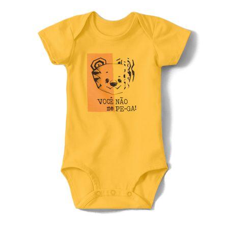 Body Tigor T. Tigre Amarelo Bebê Menino