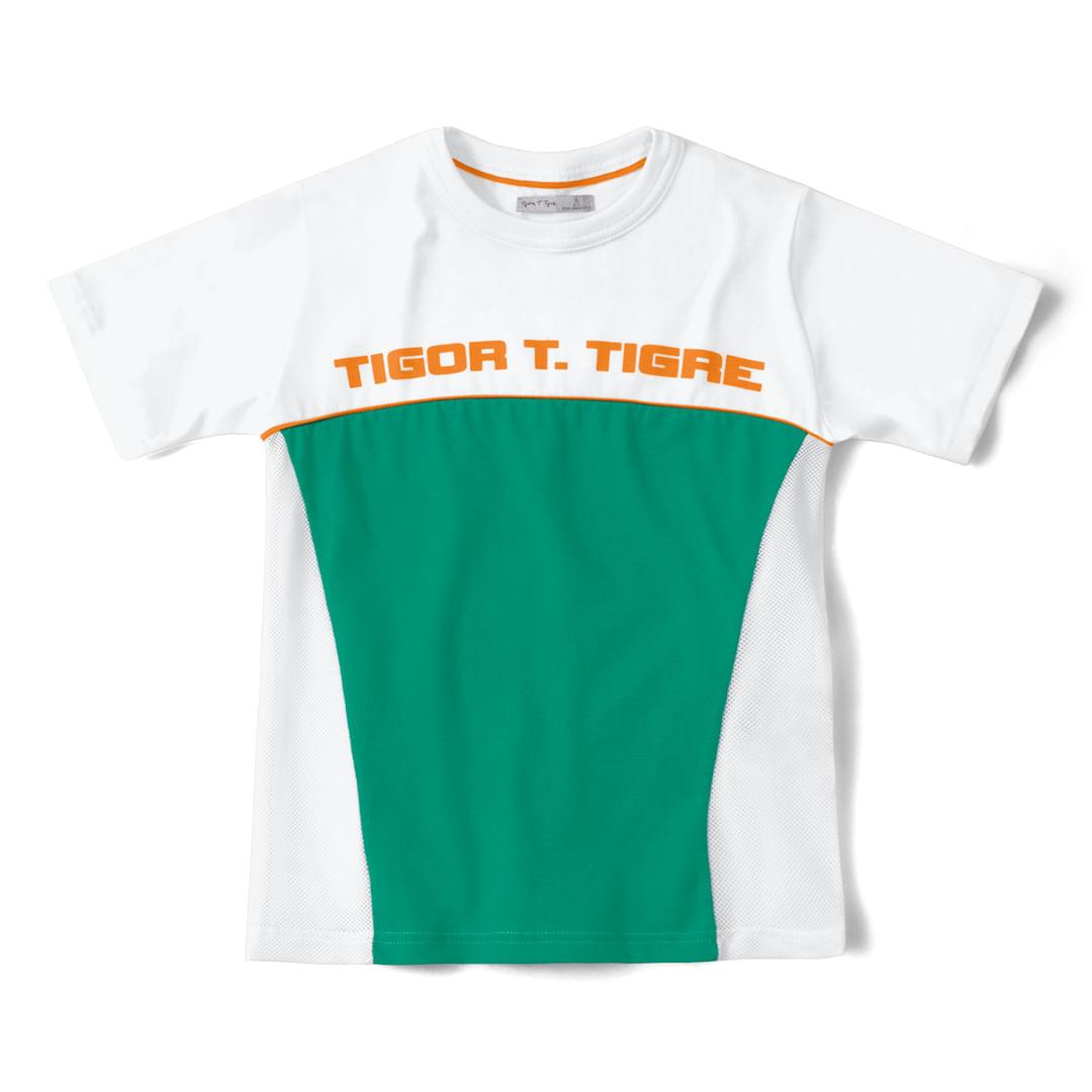 Foto 1 - Camiseta Tigor T. Tigre Branco Menino