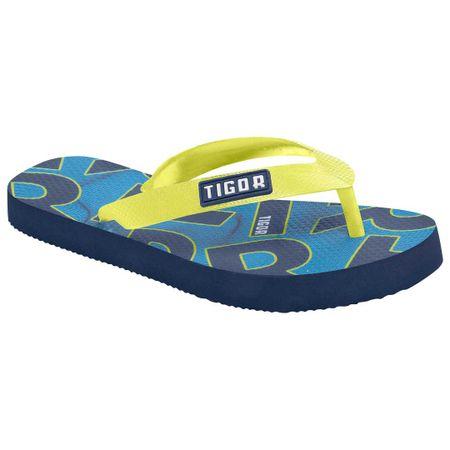 Chinelo Eva Tigor T. Tigre Azul Menino