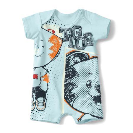 Macacão Tigor T. Tigre Azul Bebê Menino