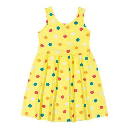 Vestido Marisol Play Amarelo Menina