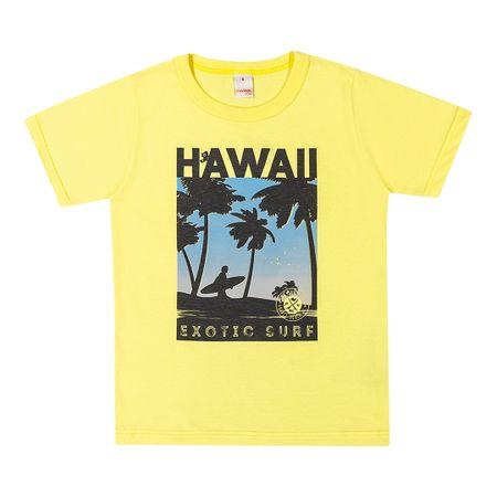 Camiseta Marisol Play Amarela Menino