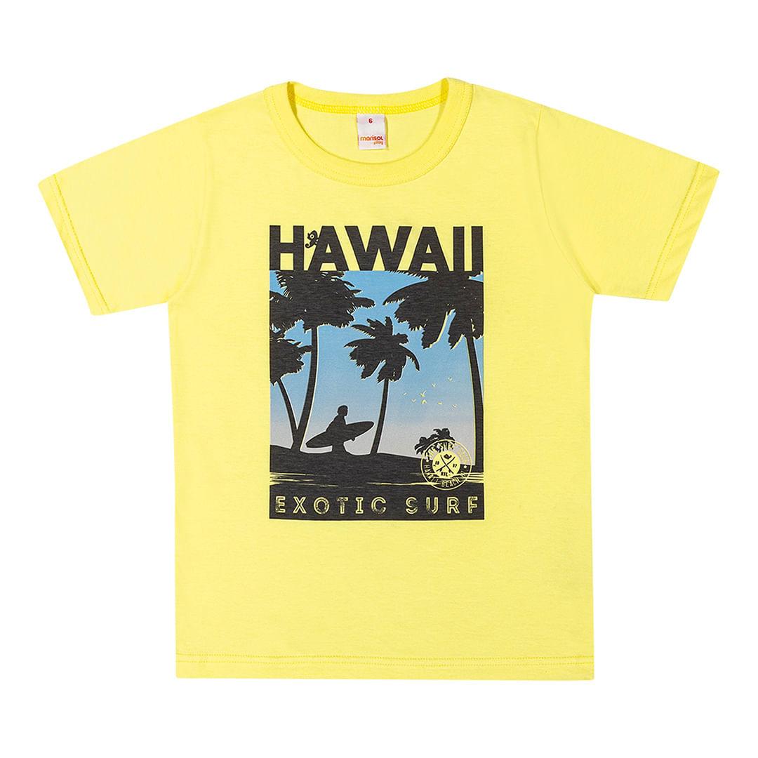 Foto 1 - Camiseta Marisol Play Amarela Menino