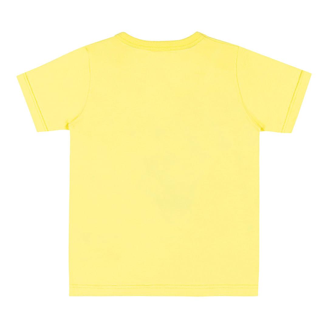 Foto 3 - Camiseta Marisol Play Amarela Menino