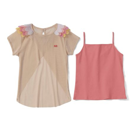Blusa Lilica Ripilica Rosa Bebê Menina