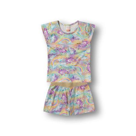 Pijama Marisol Rosa Bebê Menina