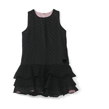 Vestido Lilica Ripilica Preto Bebê Menina