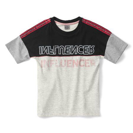 Camiseta Tigor T. Tigre Preta Bebê Menino