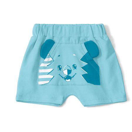 Short Tigor T. Tigre Azul Bebê Menino