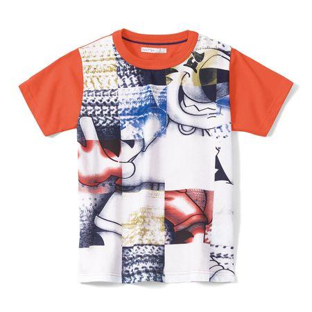 Camiseta Tigor T. Tigre Branca Menino