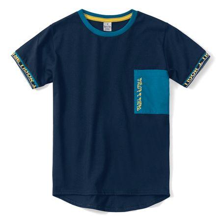 Camiseta Tigor T. Tigre Azul Menino