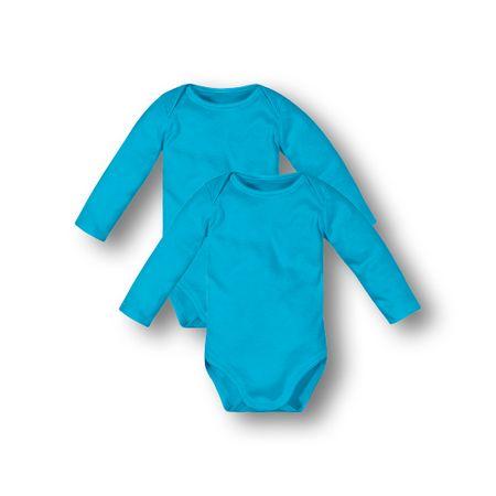 Kit Body 2 Pecas Marisol Play Azul Bebê Menino
