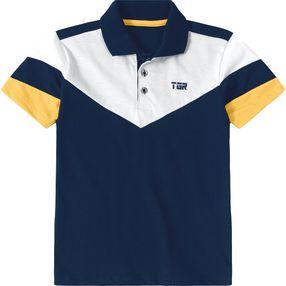Camisa Pólo Tigor T. Tigre Azul