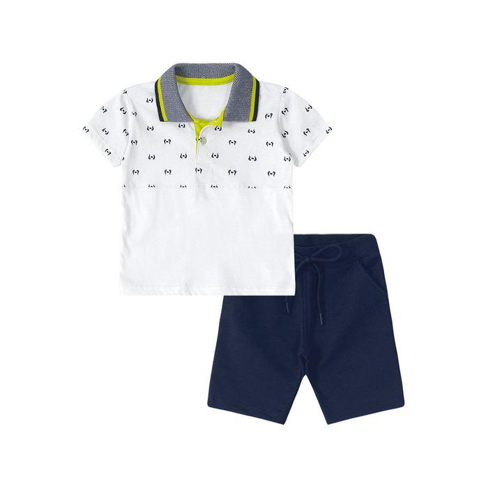 a1d4c13a67 Conjunto Tigor T. Tigre Baby Branco - lojamarisol